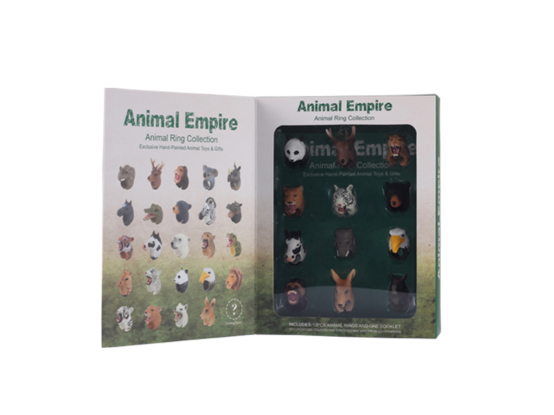 Education toy animal animal ring toy animal empire