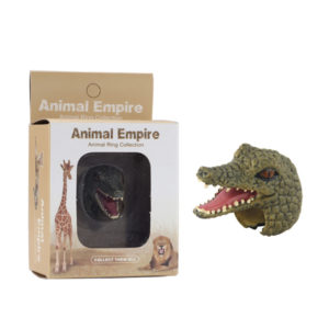 animal Crocodile ring toy zoo promotion toy for kids
