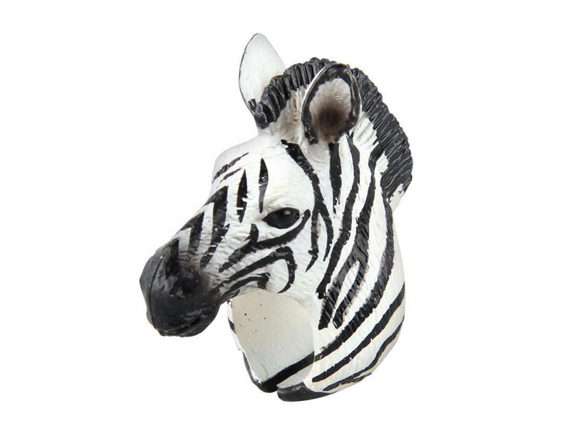 Zebra ring toy kids ring toy novelty animal gifts