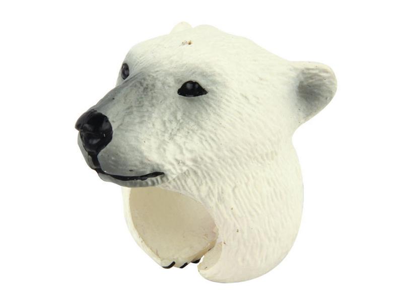 Polar bear ring toy kids ring toy novelty animal gifts