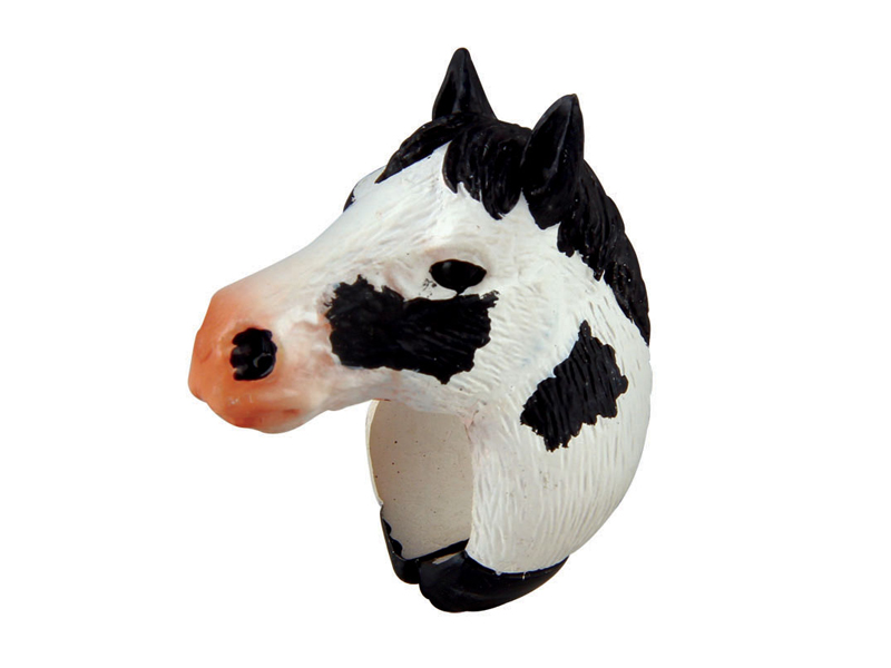 Paint horse kids ring toy novelty animal gifts