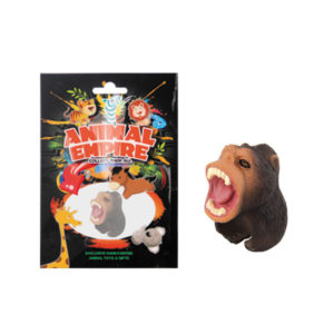 Chimpanzee ring toy plastic ring toy simulation animal gift