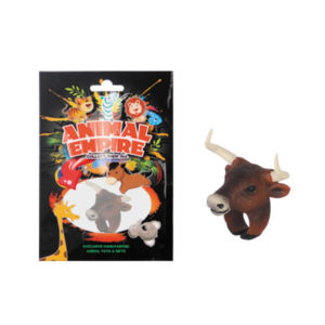 Bull ring toy plastic ring toy simulation animal gift