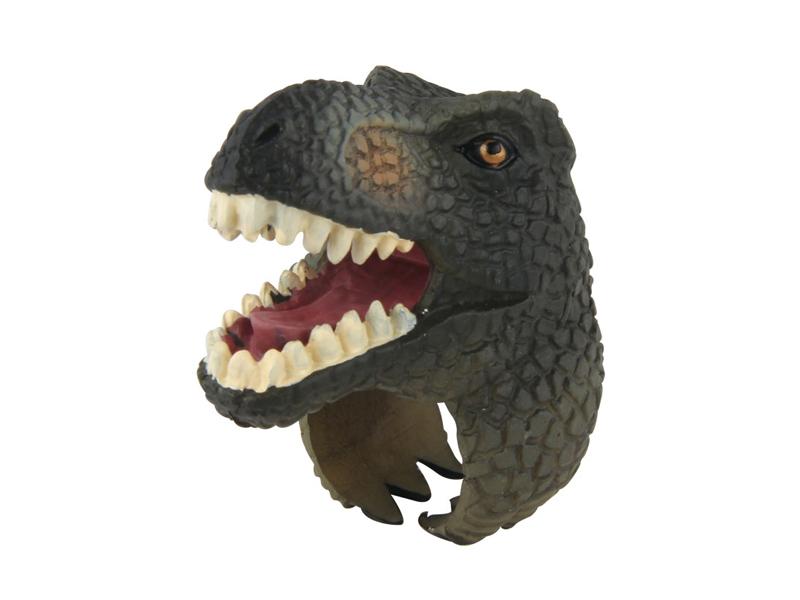 T-Rex toy dinosaur ring toys plastic finger ring toy