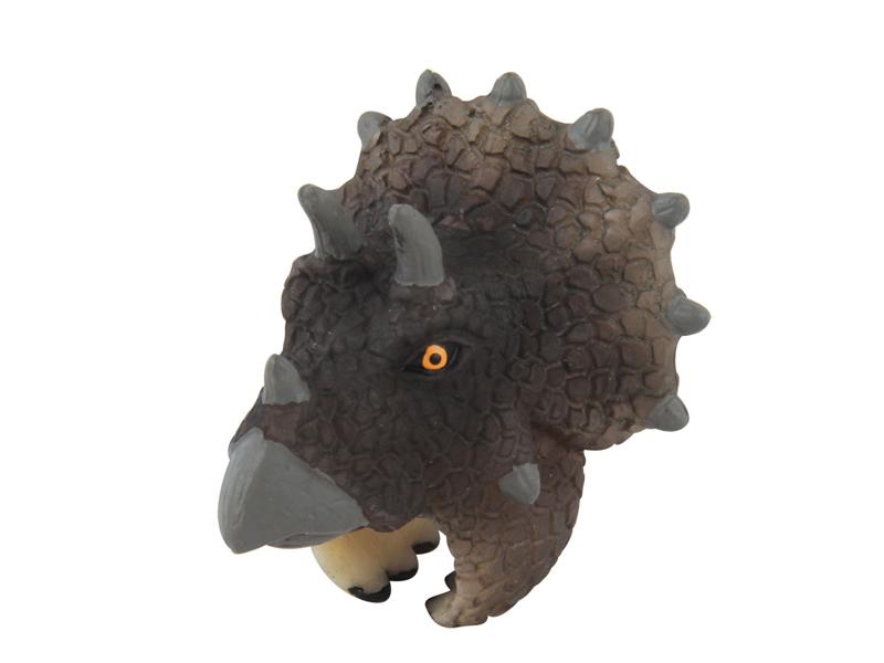 Triceratops toy dinosaur ring toys plastic finger ring toy