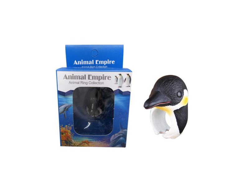 Penguin toy ring aqcuarium toy marine animals toys