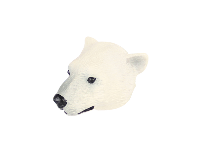 Animal shape magnet polar bear animal toy promotion magnet toys