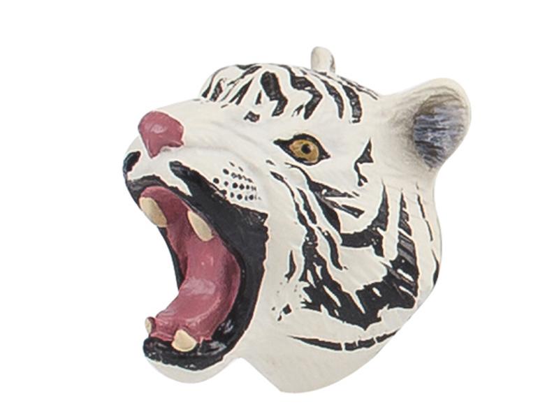 Magnetic animal white tiger animal toy promotion magnet toys
