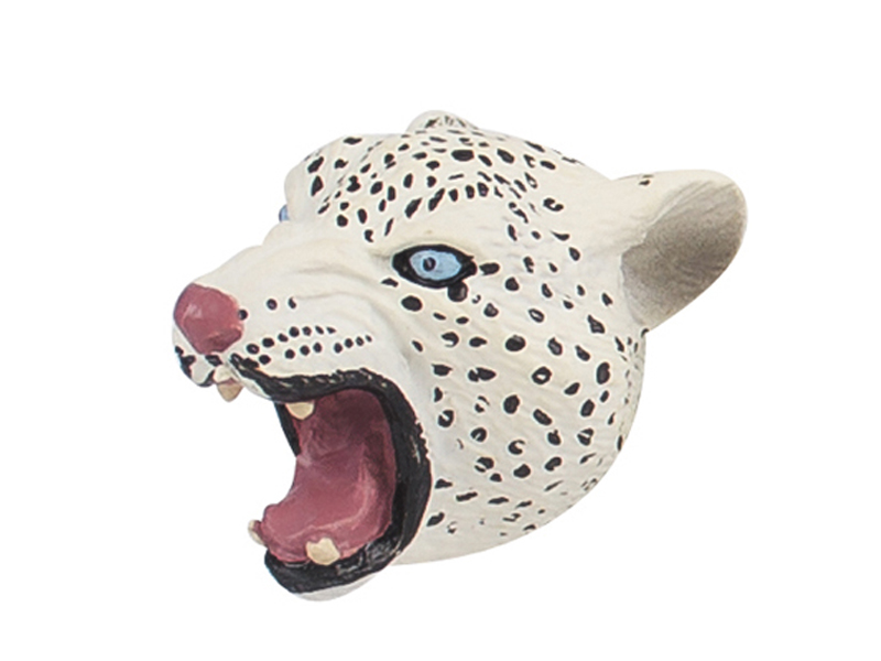 Novelty magnet snow leopard animal toy promotion magnet toys