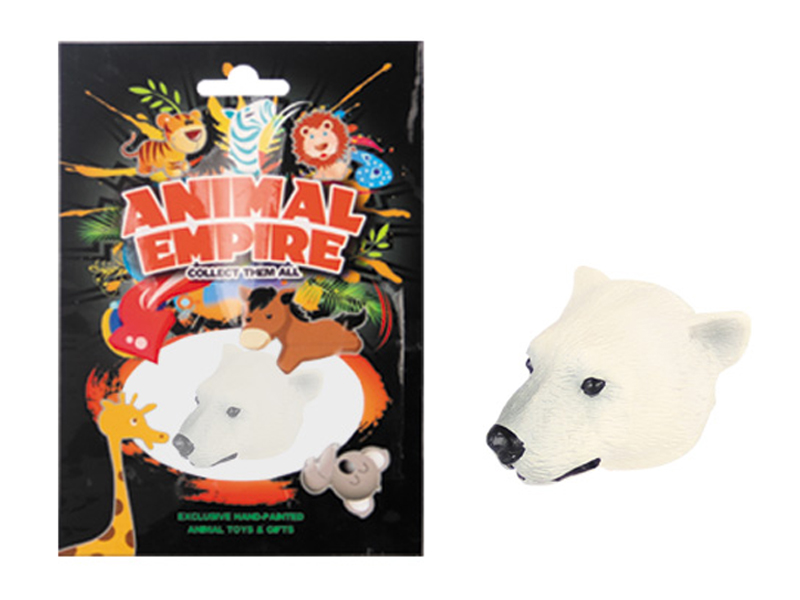 Magnetic toy polar bear magnet toy promotional toys