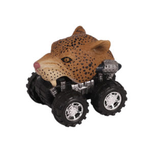 Animal Car Leopard animal car toy friction animal vehicles