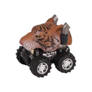 Animal Car Tiger animal car toy friction animal vehicles