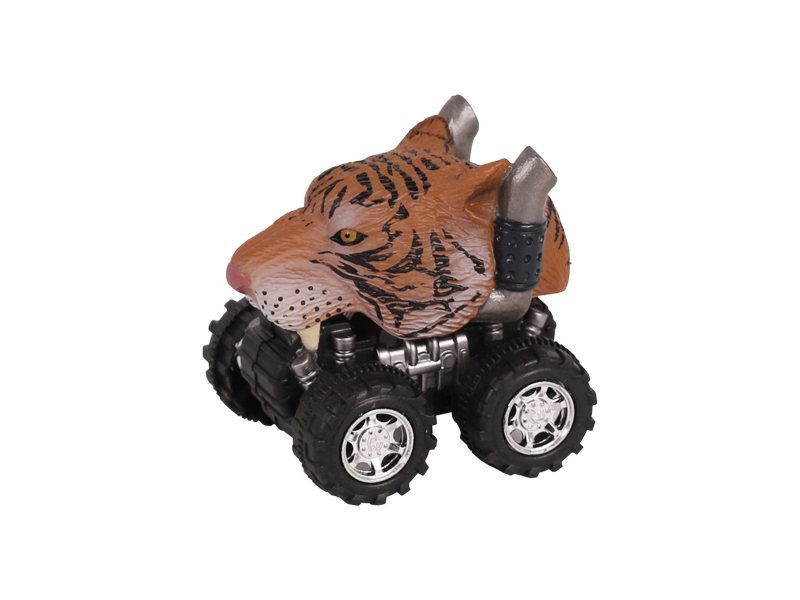 Animal Car Tiger animal car toy friction animal vehicles