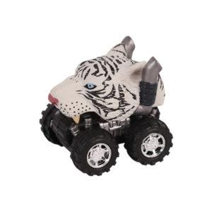 Animal Car White Tiger animal car toy friction animal vehicles