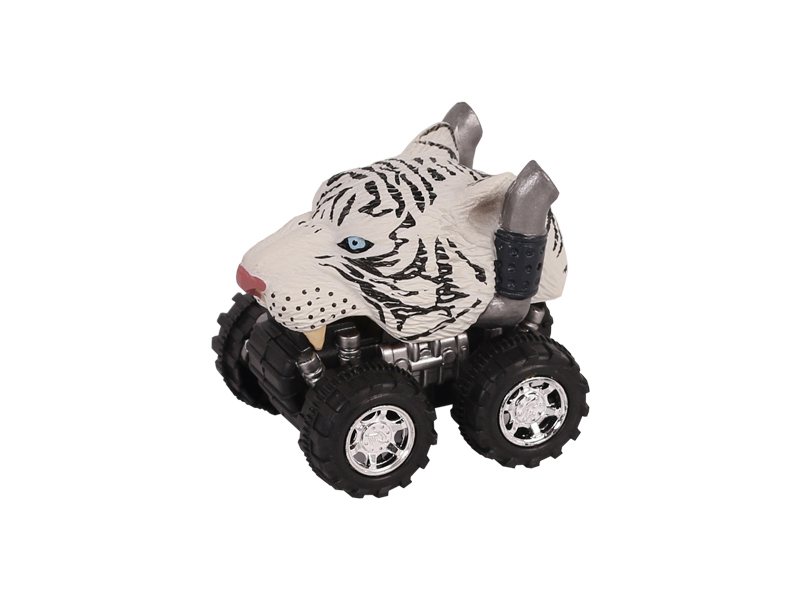 Animal Car White Tiger animal car toy friction animal vehicles