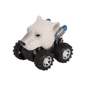 Animal Car Polar Bear animal car toy friction animal vehicles