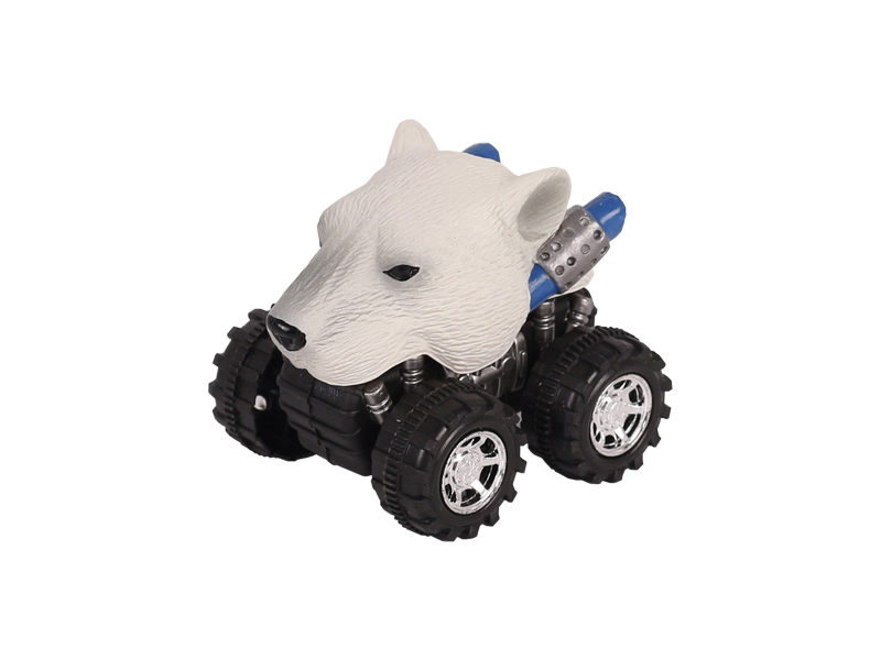 Animal Car Polar Bear animal car toy friction animal vehicles