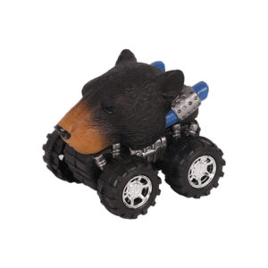 Animal Car Black Bear animal car toy friction animal vehicles