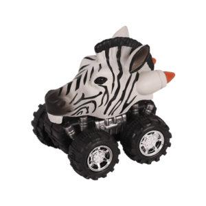 Animal Car Zebra animal car toy friction animal vehicles