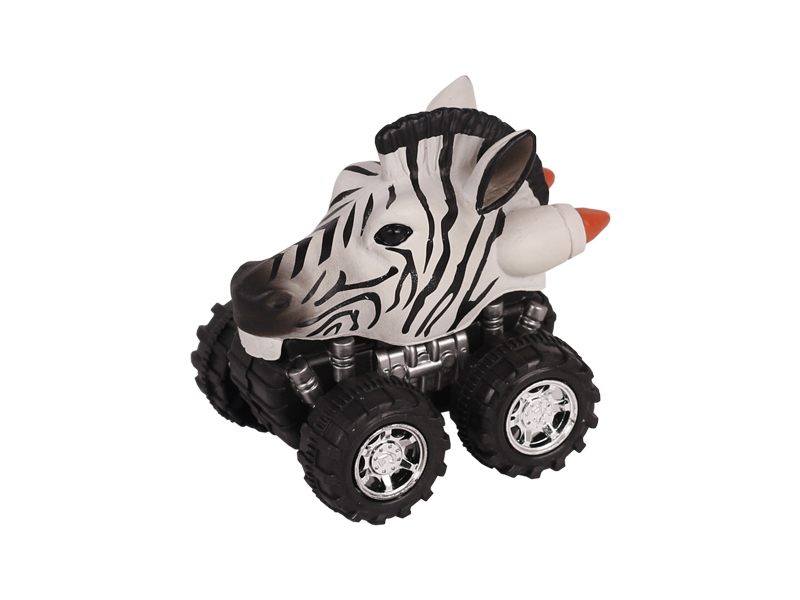Animal Car Zebra animal car toy friction animal vehicles