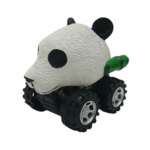 Panda toy animal head car plastic toys