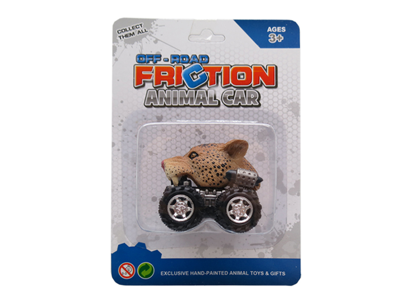 Toy car animal leopard toys pull back animal vehicles