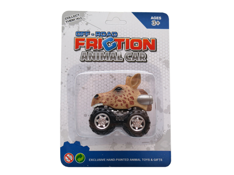 Giraffe toy car animal head toy pull back vehicle toys