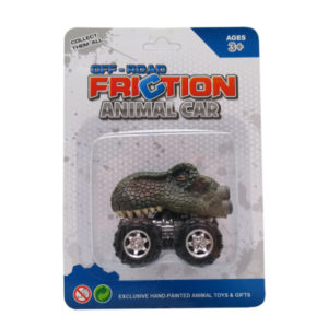 Tyrannosaurus car toy Dino car toy friction pull back truck toys