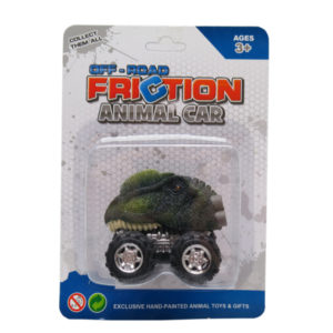 Dino car toy dilophosaurus toy friction pull back truck toys