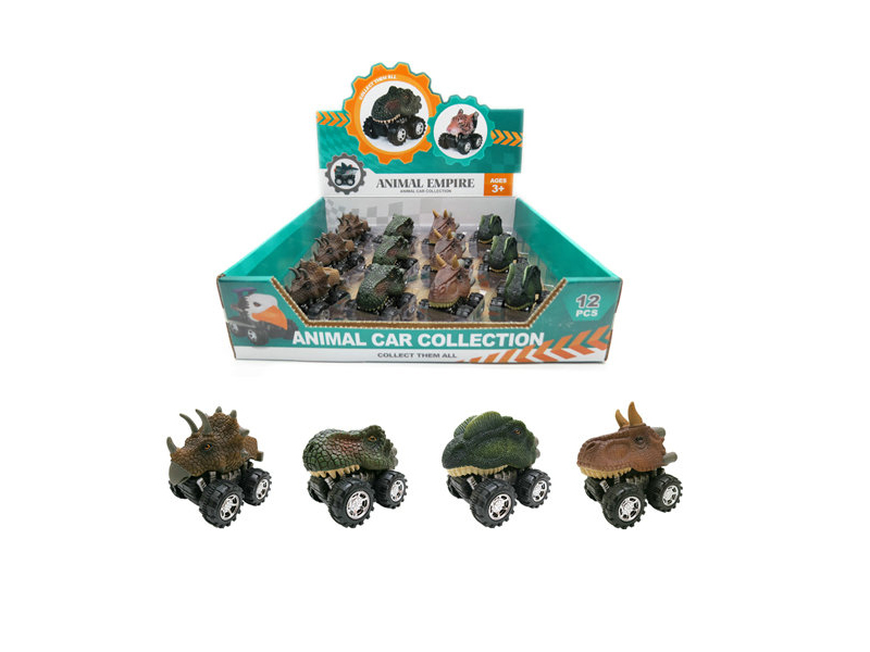 Dinosaur car dinosaur car toy dino toy vehicles set