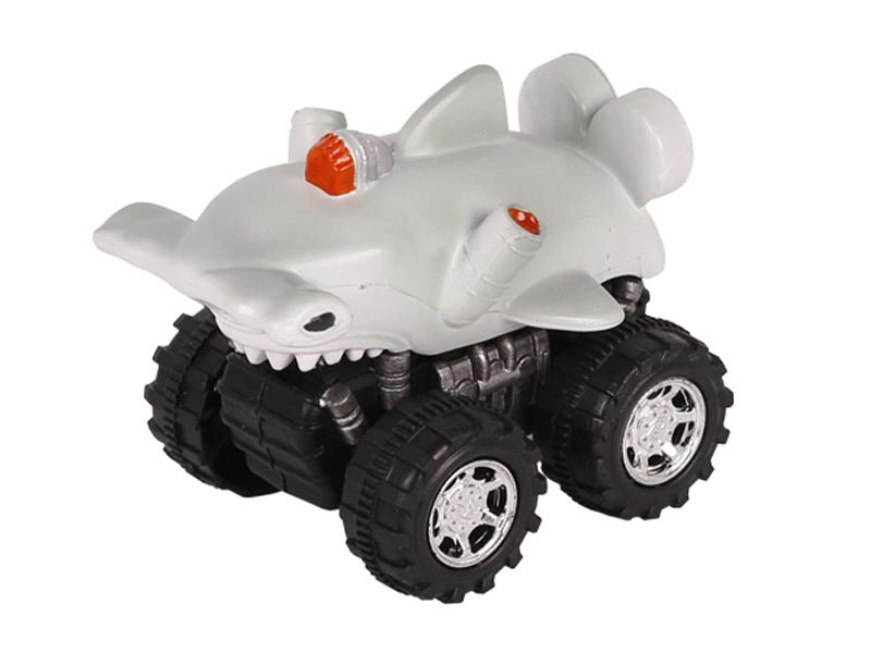 Ocean animal car pull back car toy friciton hammerhead shark vehicle toys