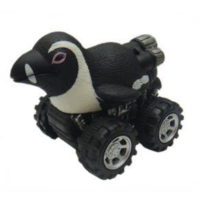 penguin toy pull back car plastic toys