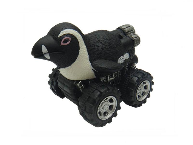 penguin toy pull back car plastic toys