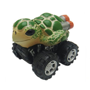 green turtle toy pull back car plastic toys