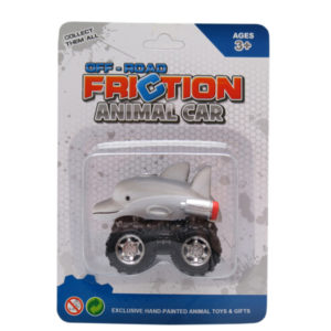 Dolphin toy car friction pull back toy vehicles