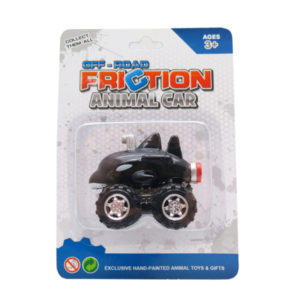 Orca toy car friction pull back toy vehicles