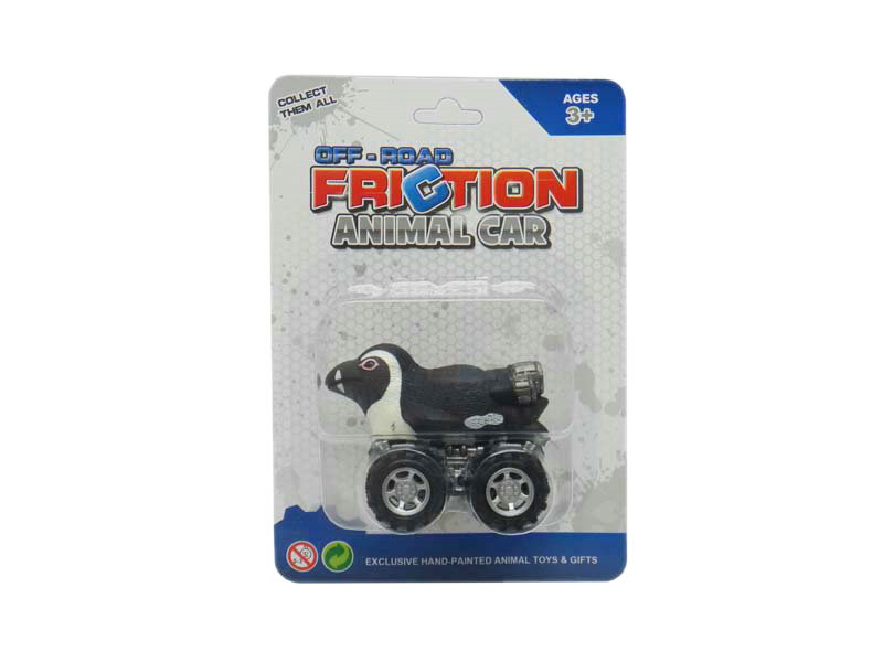 friction penguin toy animal car toys pull back animal toy