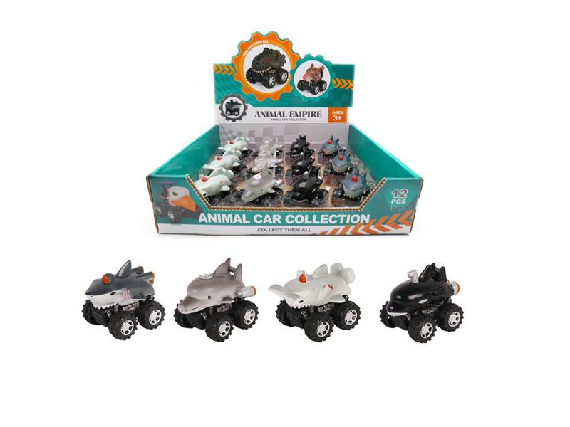 Sea animal car animal car toy aquarium toy vehicles