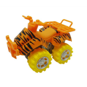 tiger motorcycle toy beach ATV animal skin car
