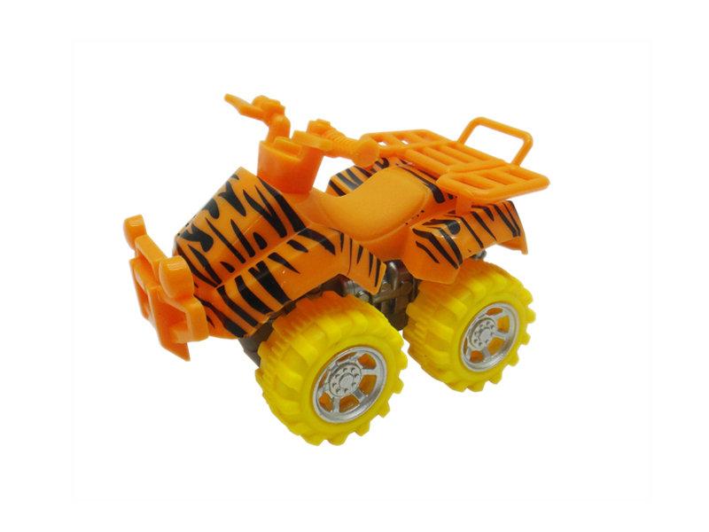 tiger motorcycle toy beach ATV animal skin car