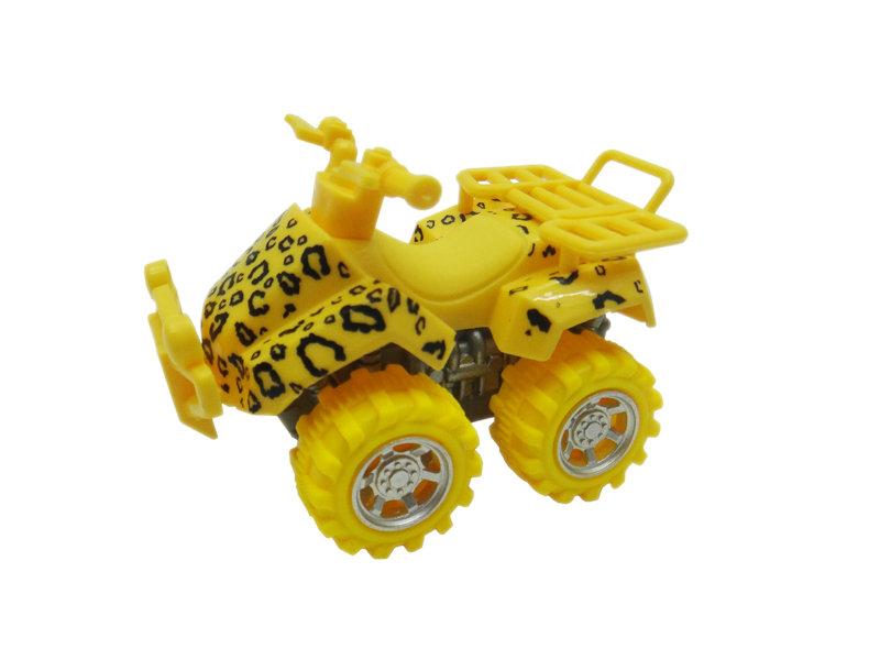 leopard motorcycle toy beach ATV animal skin car