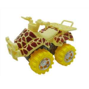 giraffe motorcycle toy beach ATV animal skin car