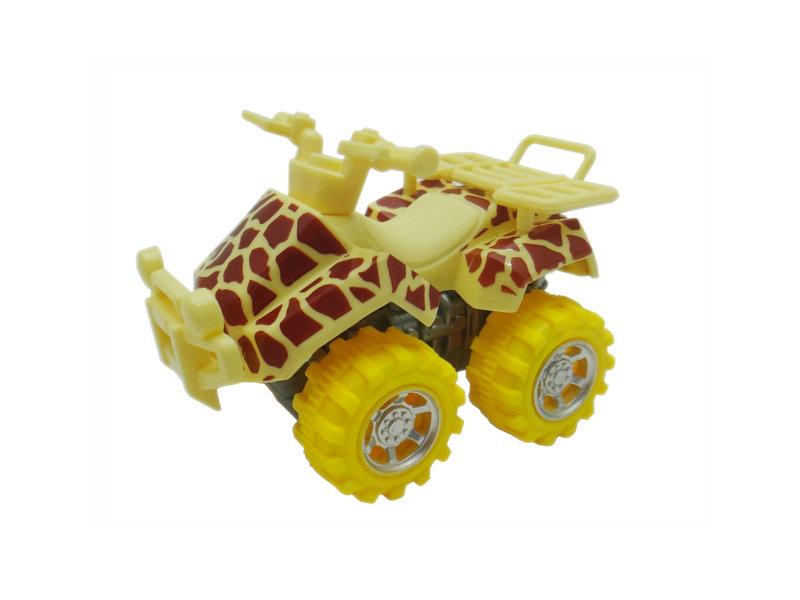 giraffe motorcycle toy beach ATV animal skin car