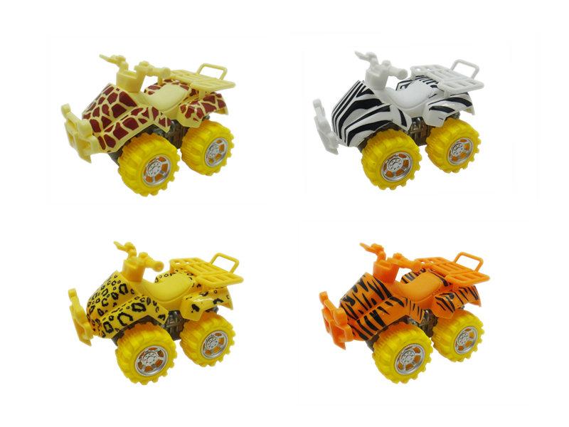 friction ATV motorcycle toy animal skin beach car