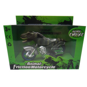 Dinosaur motorcycle T-Rex motorcycle dino toy