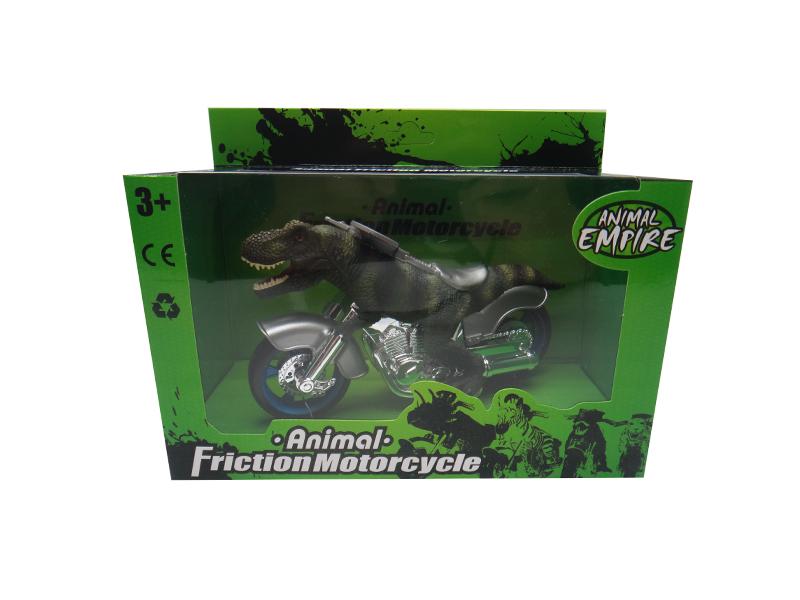 Dinosaur motorcycle T-Rex motorcycle dino toy