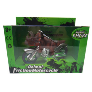 Dinosaur motorcycle triceratops motorcycle dino toy