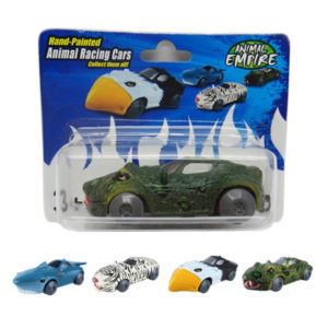 Friction snake toy friction power car animal racing sports car