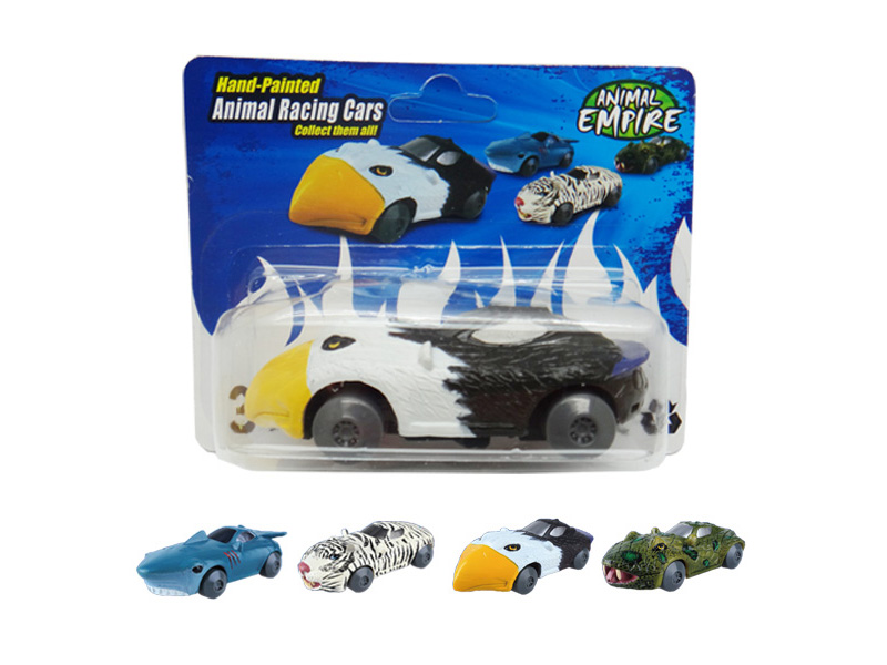 Friction eagle toy friction power car animal racing sports car
