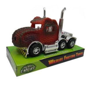Dino truck toy Animal empire red tyrannosaurus truck